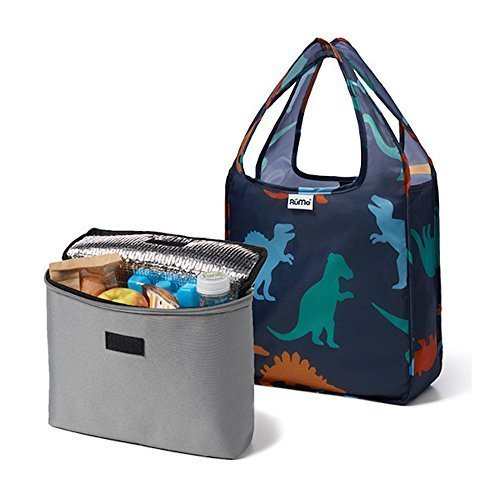rume-bags-mini-tote-with-2cool-insulated-lunch-bag-cooler-set-of-2-dino