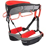 Black Diamond Momentum climbing belt DS, XS-M grey/red climbing belt