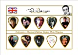John Lennon Premium Celluloid Guitar Picks Display Limited to 150