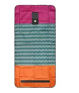 Case Cover Printed Multicolor Soft Back Cover For Lenovo A7700