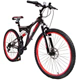 Octane Interceptor Mens Mountain Bike - Black/Red 18 inchby Octane