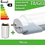 1x LEDVero T8 SMD-LED Röhre 90cm - 14W - Kaltweiß