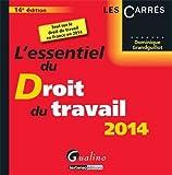 echange, troc Dominique Grandguillot - L'essentiel du droit du travail 2014