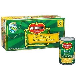 Del Monte Whole Kernel Corn - 8/15.25 oz. cans