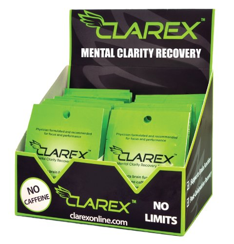 Clarex, Mental Clarity Recovery Formula - 24 Pouches Pos