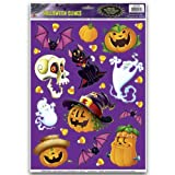 Halloween Character Clings Party Accessory (1 count) (25 Sh)