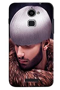 Omnam Man With Different Hairs Printed Back Cover Case For Coolpad Note 3 Lite