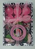 Fragrance candle gift sets(5x16.5x11.5 cms,Pink)
