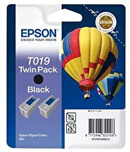 Epson Original Black Ink Cartridge  T019201 T019