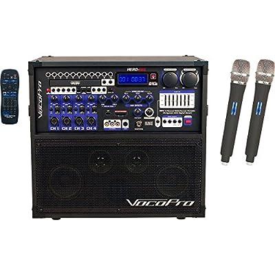VocoPro HERO-REC 6 Home Karaoke System by VocoPro