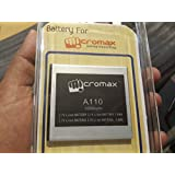 GENUINE MICROMAX A110 Battery-Protective Sealed Pack-3000MAH FOR MICROMAX Canvas 2/Canvas2/A110 Battery