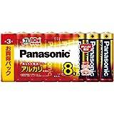 Panasonic 単3形アルカリ乾電池 8本パック LR6XJ/8SW