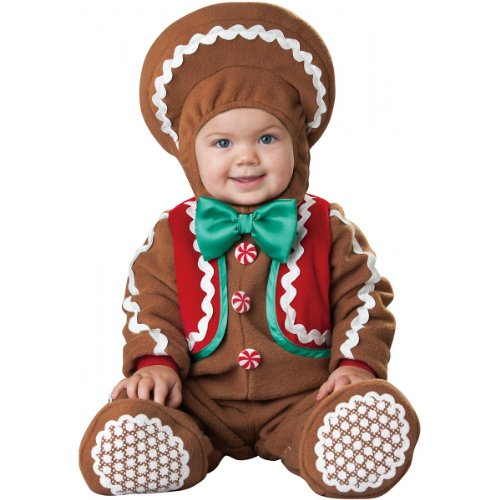 Sweet Gingerbaby Costume - Infant Large front-995136