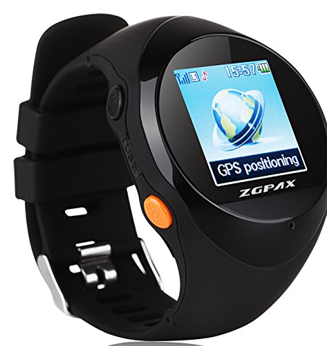 ZGPAX-PG88-Smartwatch-Montre-Intelligente-de-Plein-Air-avec-GPS-Location-SOS-Prvenir-La-Perte-Smartwatch-de-Sport-SIM-Smartphone-Noir