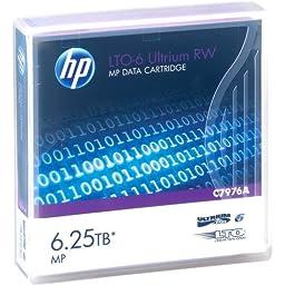 HEWC7976A - HP LTO-6 Ultrium 6.25TB MP RW Data Cartridge