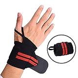 Mudder Weight Lifting Wrist Wraps Support Gym Straps, 1 Pair