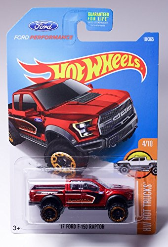 Hot Wheels, 2017 HW Hot Trucks, '17 Ford F-150 Raptor [Maroon] 10/365 (Hot Wheels Truck compare prices)