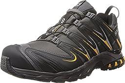 Salomon Men\'s XA Pro 3D CS WP Trail Running Shoe,Autobahn/Black/Yellow Gold,10.5 M US