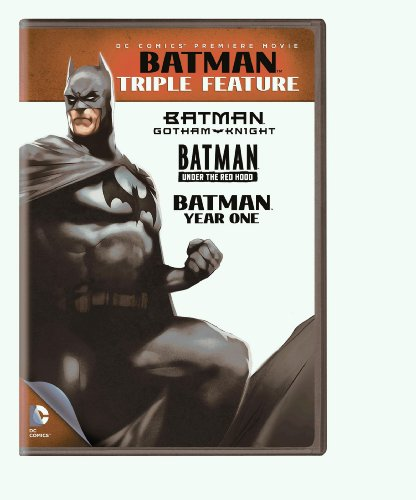 Cover art for  Batman: Triple Feature
