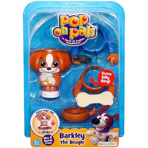 Pop On Pals Barkley The Beagle with Accessories