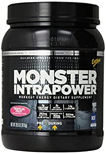 Cytosport Monster Intrapower Pre-Workout Supplement, Tropical, 28.6 Ounce