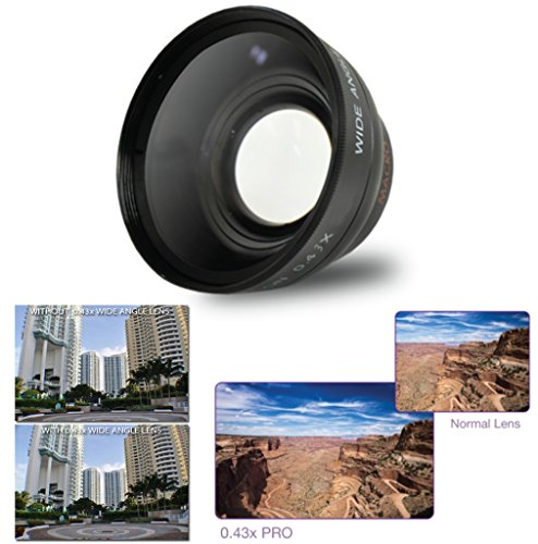 58mm-43x-Wide-Angle-Lens-with-Macro-for-Canon-EOS-Rebel-T6s-T6i-SL1-T5-T5i-T4i-T3-T3i-T1i-T2i-XSI-XS-XTI-XT-70D-60D-60Da-50D-40D-30D-20D-10D-7D-Digital-SLR-DSLR-Cameras