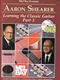 Shearer Learning The Classic Guitar Part 3 Classical Guitar Book/Cd