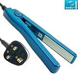 Mini Hair Straighteners - 4 Colors (Blue)