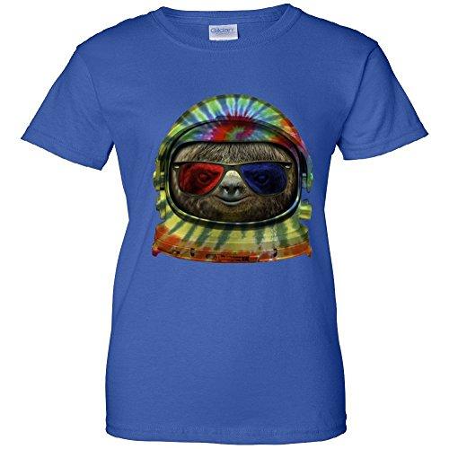 Women's T-Shirt: Sloth Astronaut 3D Glasses WTTP2235617