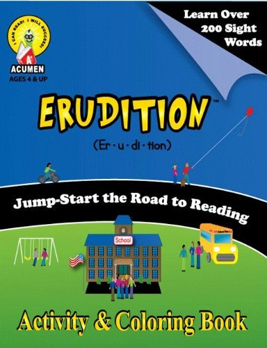 Erudition Activity & Coloring Book - 1