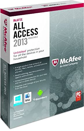 McAfee All Access Household 2013