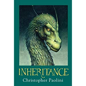 Inheritance by Christopher Paolini Hardcover Book