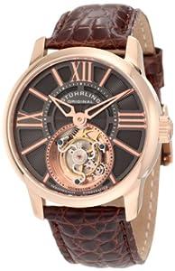 Stuhrling Original Men's 296D.334X54 Tourbillon Viceroy Tourbillon Limited Edition Mechanical Brown Watch