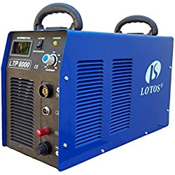 Lotos Technology LTP8000 80 Amps Pliot Arc Plasma Cutter with Roller Guide