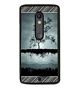 ifasho Designer Phone Back Case Cover Motorola Moto X Play ( Colorful Pencil Pattern Design )