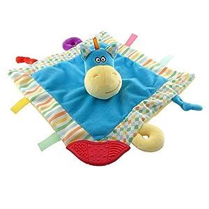 Lil Moments Baby Blanket, Security blanket, teether, teething blanket, teething toy