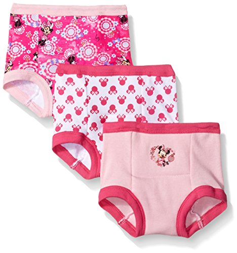 Disney Toddler Girls' Minnie 3 Pack Training Pant, Assorted, 2T (Gerber Training Pants 4t compare prices)