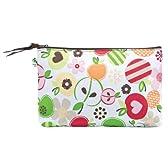 Mini Zipper Pouch - Apple Blossom
