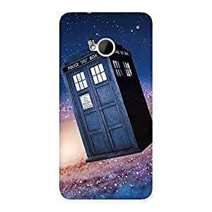 Ajay Enterprises Wo Galaxy Box Back Case Cover for HTC One M7