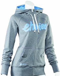 Etnies Damen Sweatshirt Script Fill Zip Fleece, dark grey/blue, XS, 4230001316