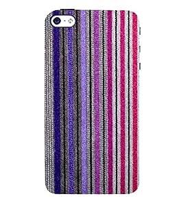 Fantastic Line Pattern 3D Hard Polycarbonate Designer Back Case Cover for Apple iPhone 5S