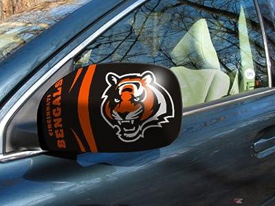 """Fanmats NFL - Cincinnati Bengals Small Mirror Cover Size=5.5""""x8"""" NFL-11870"""