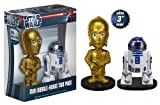 Funko C-3PO and R2-D2 Ultra Mini Wacky Wobbler's