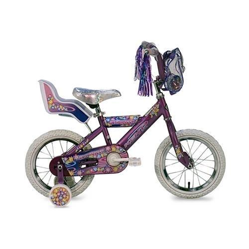 Kent Products - Kent Sundancer Girls' Bike (14-Inch Wheels) - Tig Welded Steel Frame and Fork