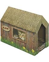 Nobby Maison Grattoir Carton 49 X 26 X 36 cm