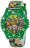 Nickelodeon Teenage  Mutant Ninja Turtles Kids' TMN4085 Digital Display Analog Quartz Green Watch