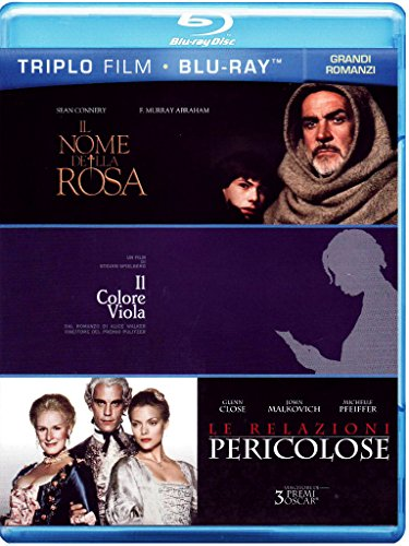 Il nome della rosa + Il colore viola + Le relazioni pericolose [Blu-ray] [IT Import]