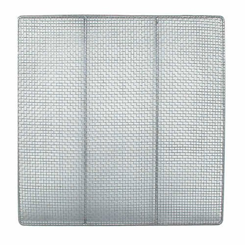 Update International DS-19SQ Stainless Steel Donut Screens, 19-Inch