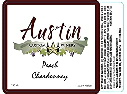 NV Austin Custom Winery Peach Chardonnay 750 ml ...
