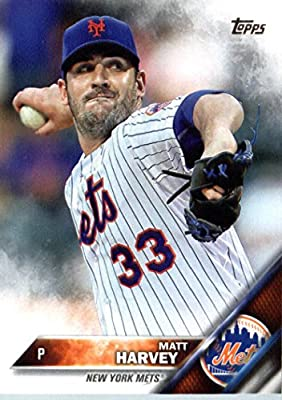 2016 Topps #67 Matt Harvey New York Mets Baseball Card